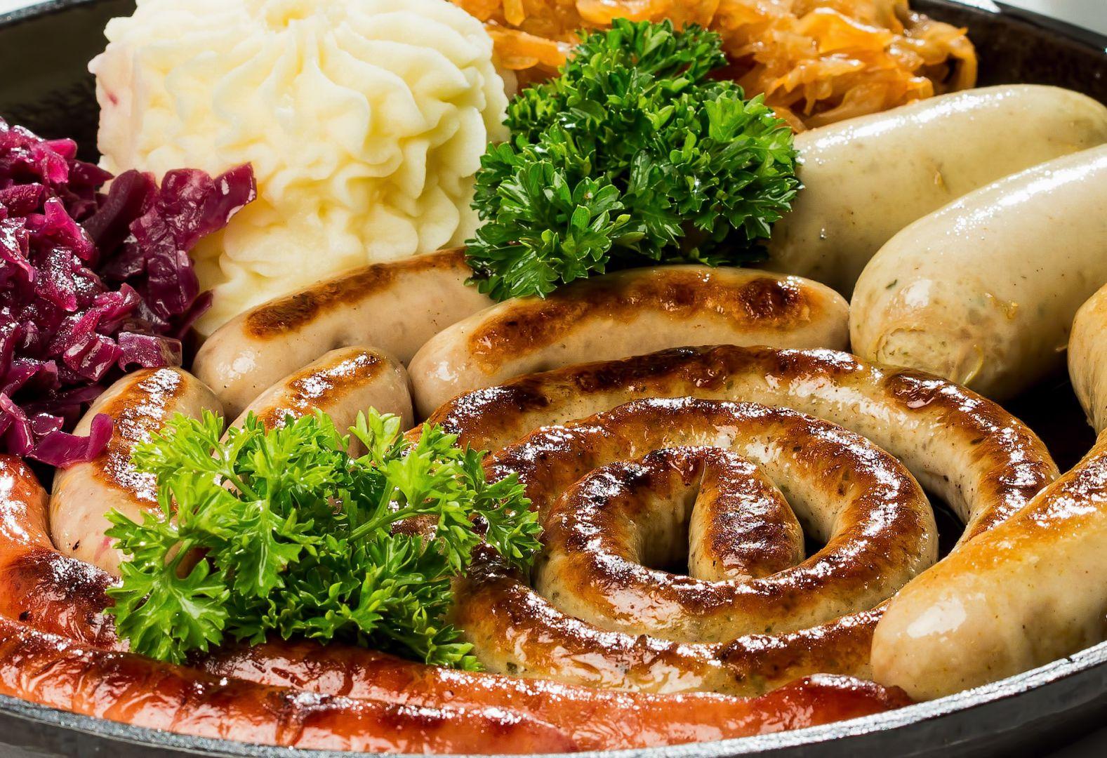 немецкие колбаски картинка природное явление