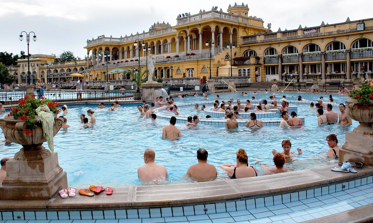 Термальные источники в Будапеште