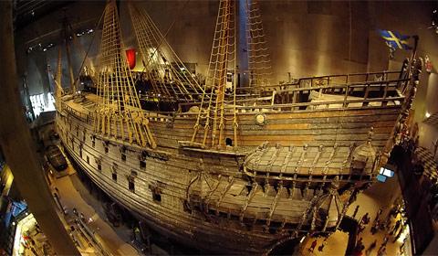"""В музее """"Vasa""""в Стокгольме"""