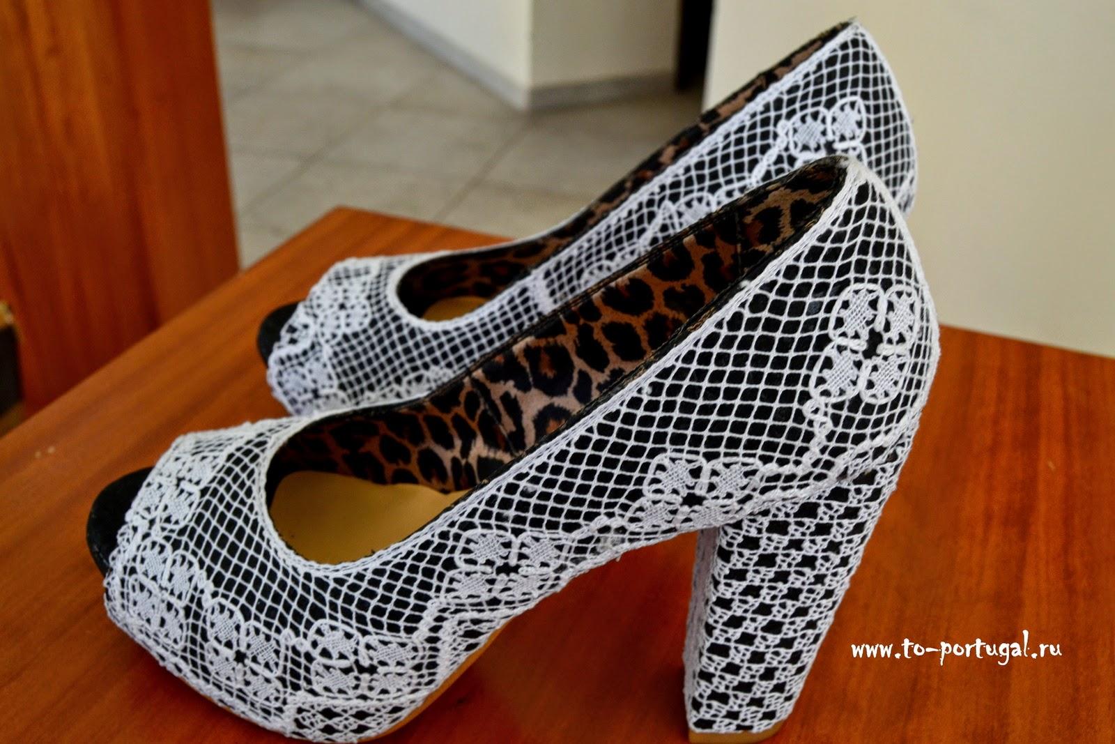 туфли кружево
