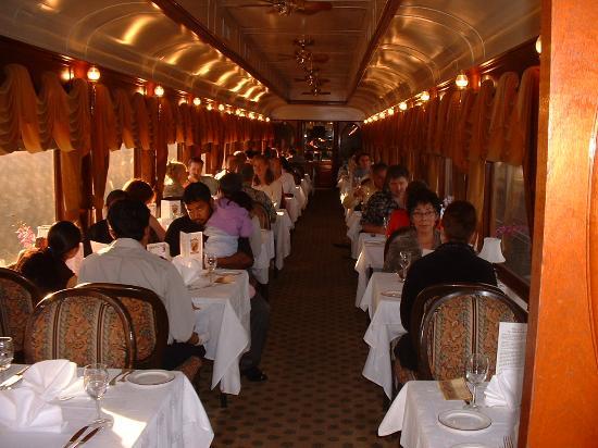 поезд для гурманов