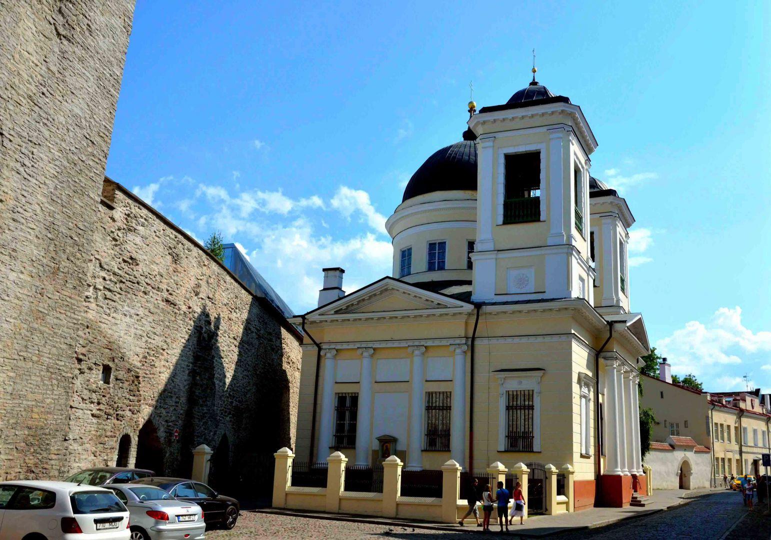 Старинная церковь Святому Николаю в Таллине