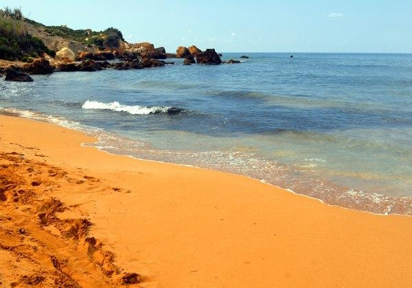 Золотой пляж на острове Гозо, Мальта