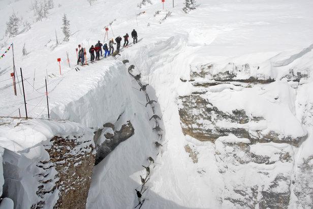 Corbet's Couloir, Jackson Hole