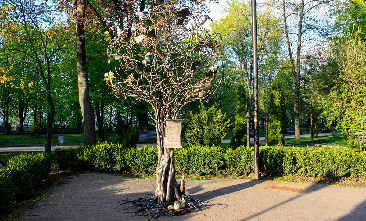 Дерево желаний в Киеве