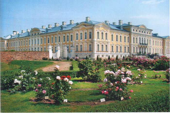 Рундальский дворец, архитектурная жемчужина южной Латвии