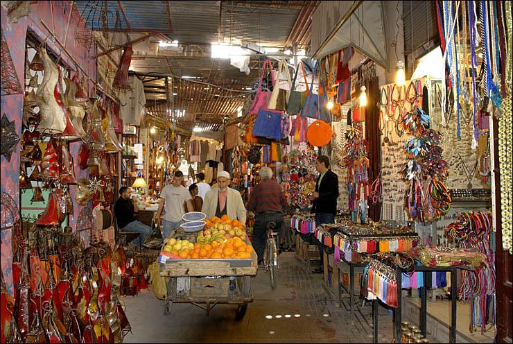 Рынок в Марокеше
