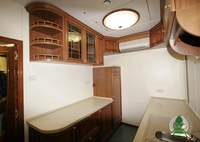 кухня в вагоне