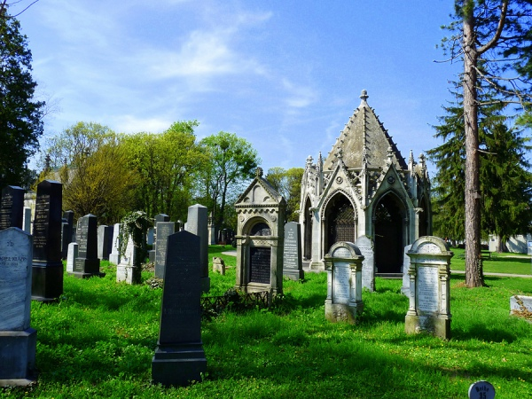 Историческое кладбище Zentralfriedhof, Вена, Австрия