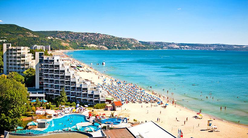 Болгария, курорт Золотые пески
