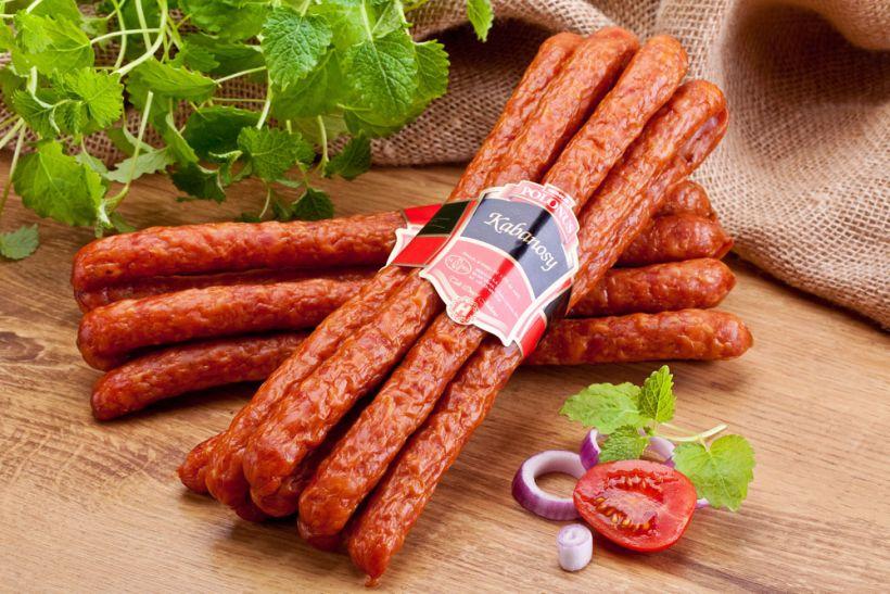 копченые колбаски «кабаносси»