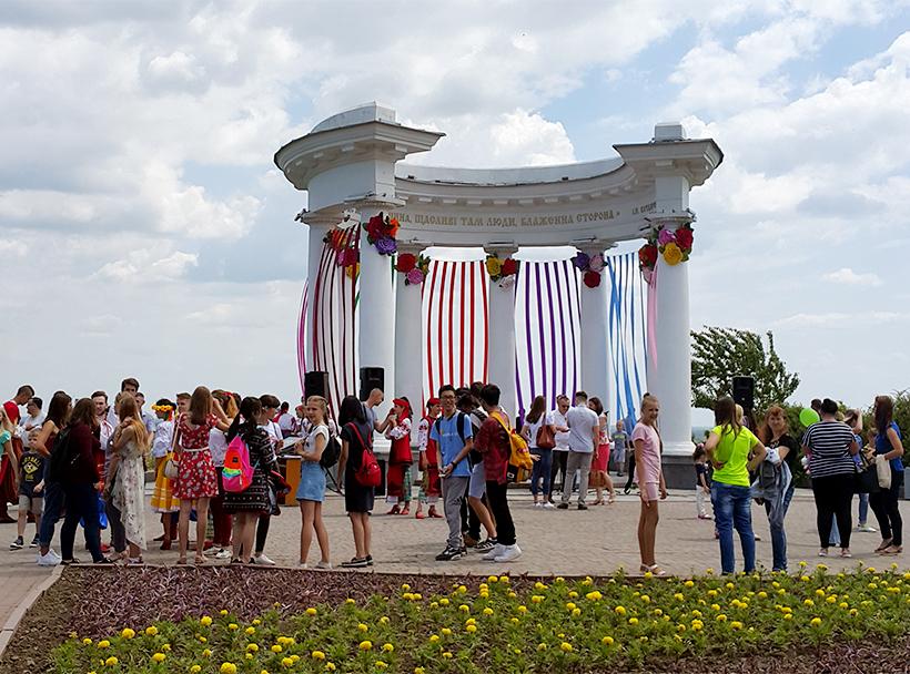 Фестиваль галушки в Полтаве