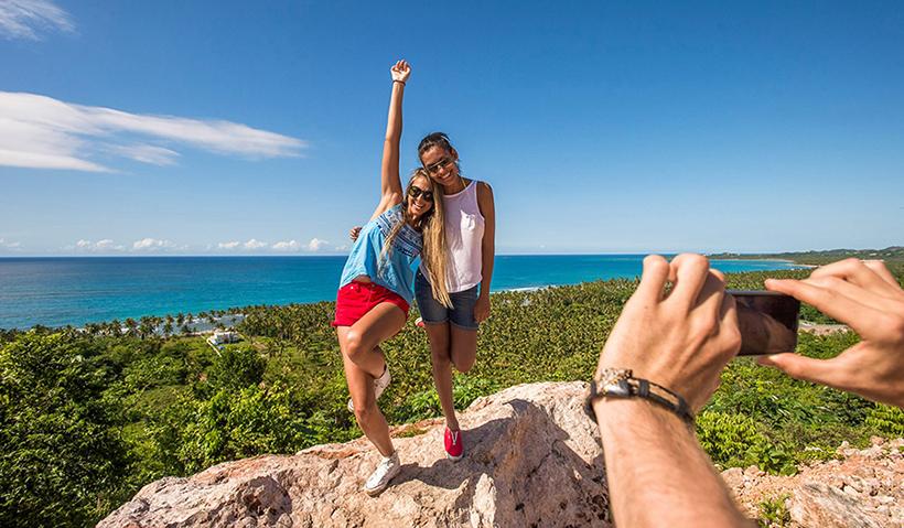 Туристы в Доминикане