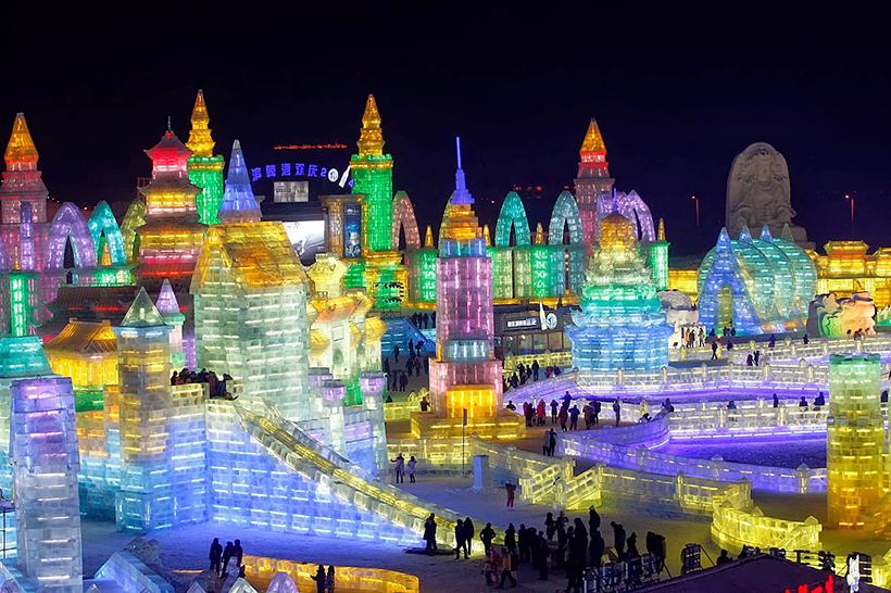 Фестиваль льодових скульптур у Харбіні