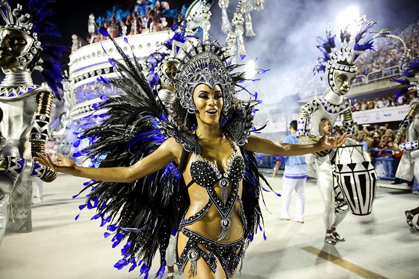 Ріо-Карнавал, Ріо-де-Жанейро. Бразилія