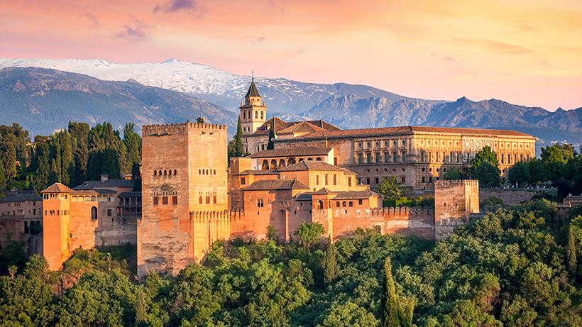 Альгамбра. Гранада, Испания