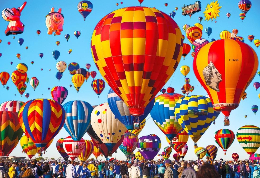 Міжнародний фестиваль повітряних куль. Альбукерке, США