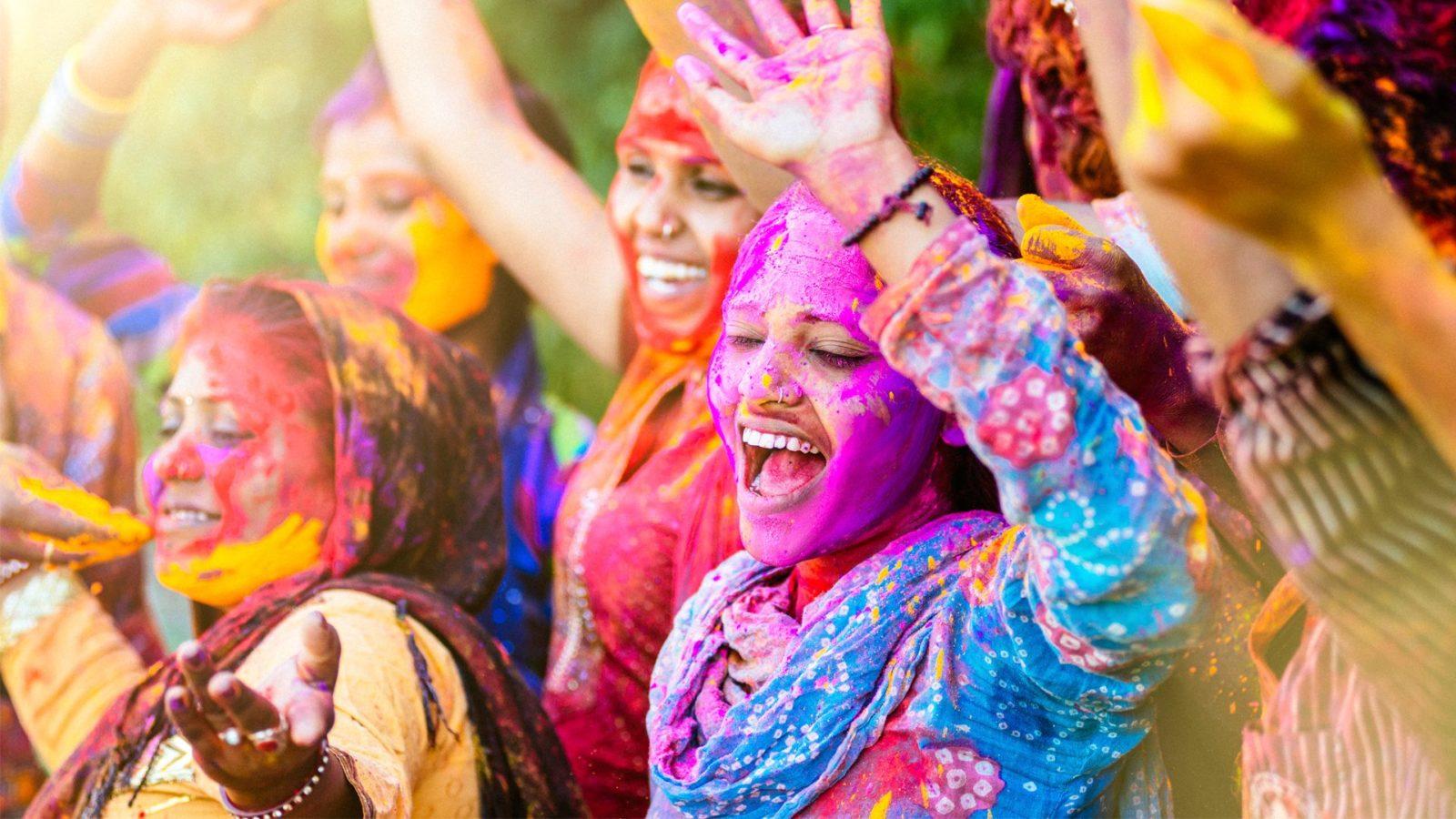 Холі – фестиваль кольорів. Індія
