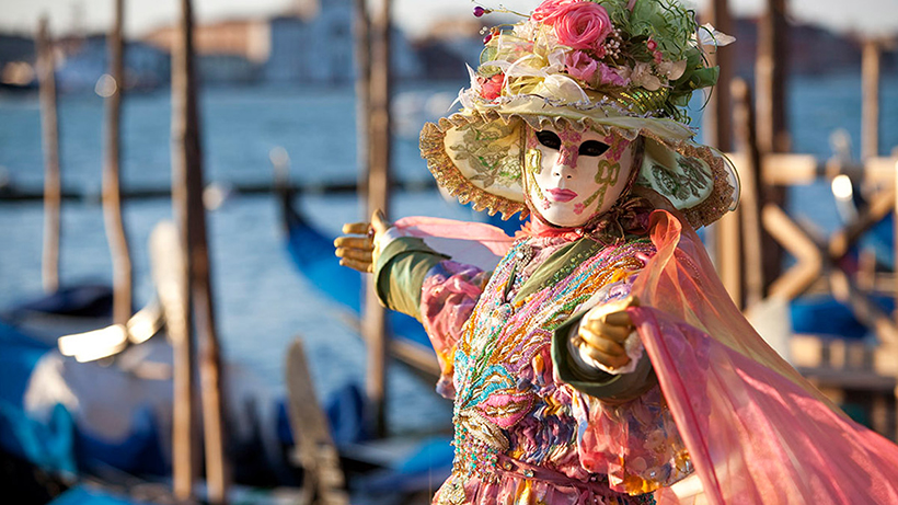 Карнавал у Венеції. Італія