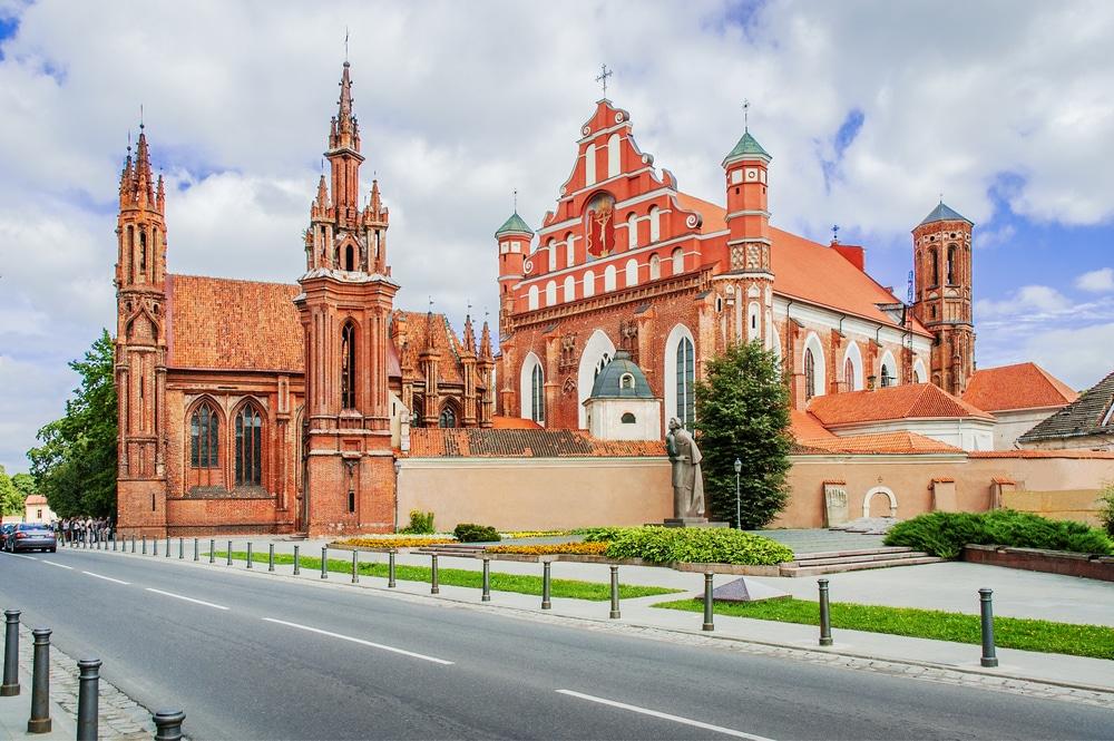 Костёл Святой Анны в Вильнюсе. Вильнюс, Литва
