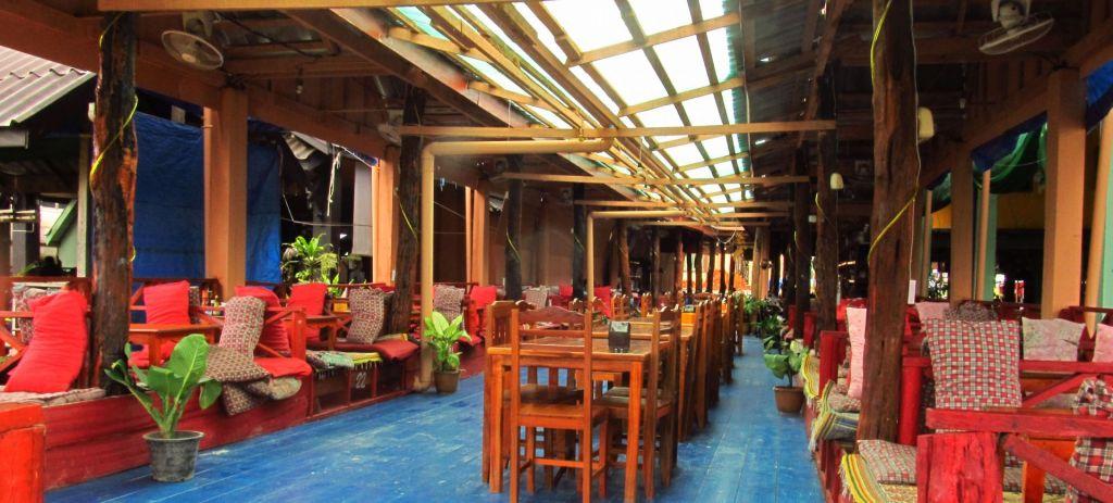 Кафе в гірському селі Ванг В'єнг