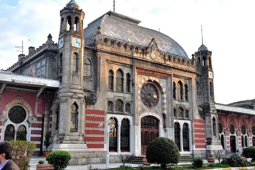 железнодорожный вокзал Сиркеджи