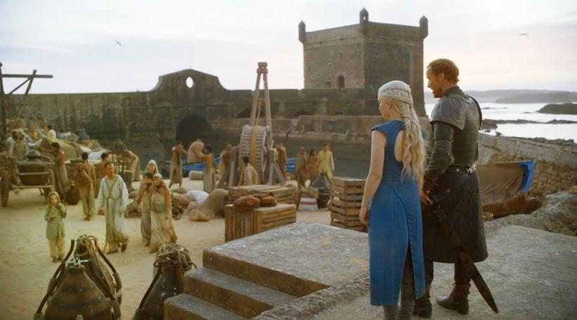 Кадры из фильма «Игра Престолов»