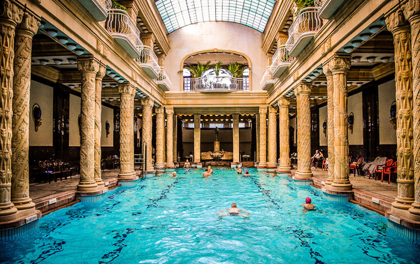 Gellert SPA and Bath, Будапешт, Венгрия