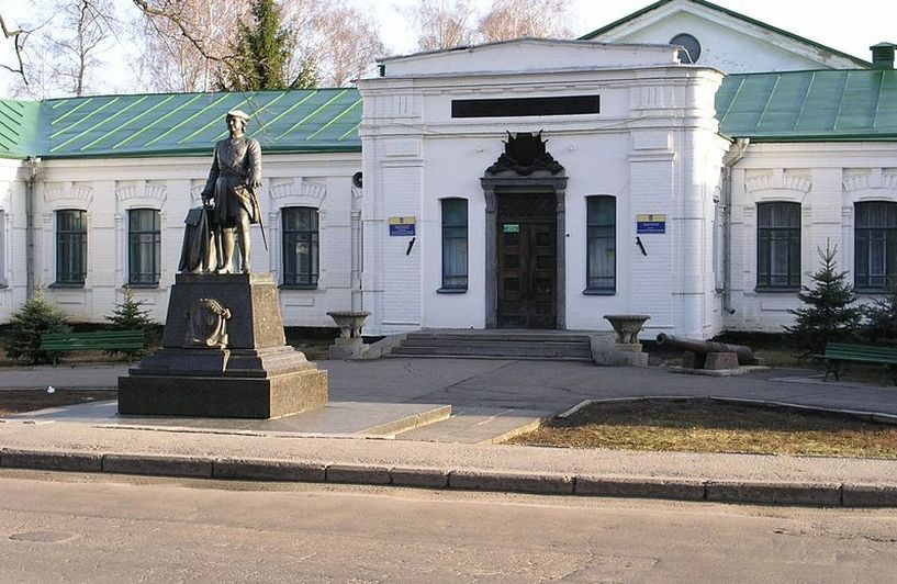 Музей Полтавский битвы. Полтава