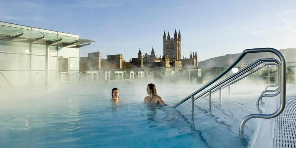 Thermae Bath SPA, Бат, Великобритания