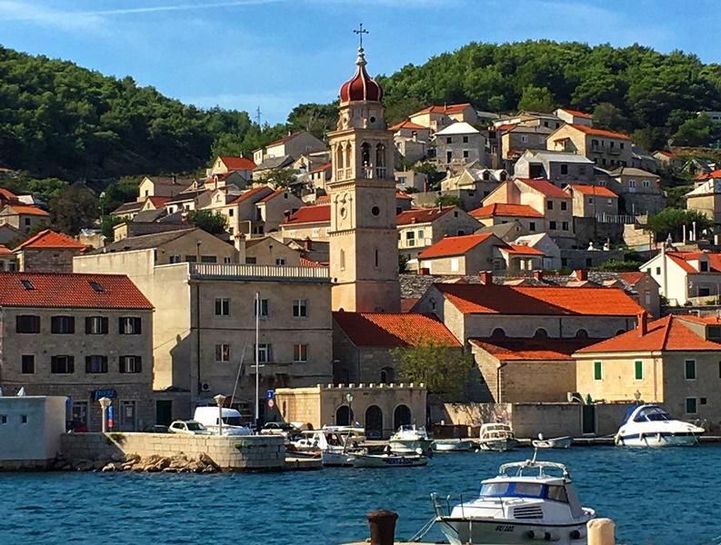 Хорватия. вид с моря