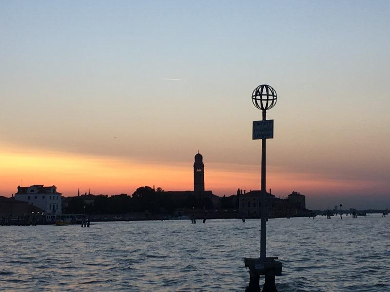 Венеция, закат