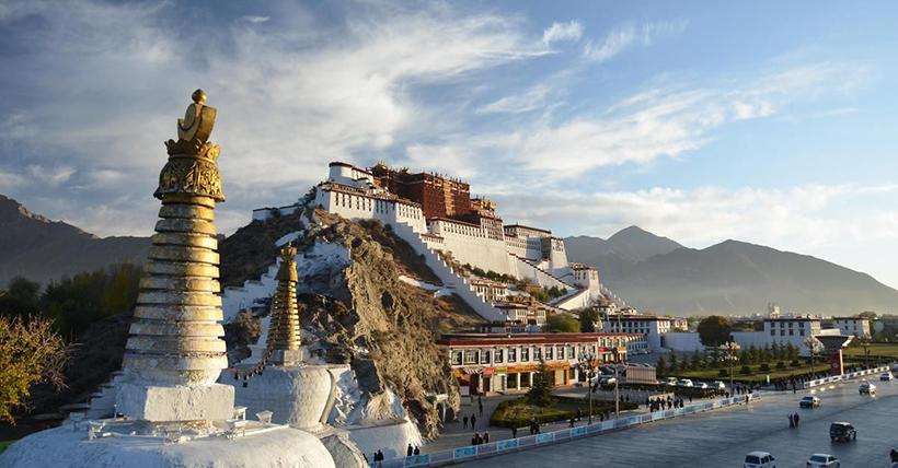 Дворец Потала, Тибет, Китай