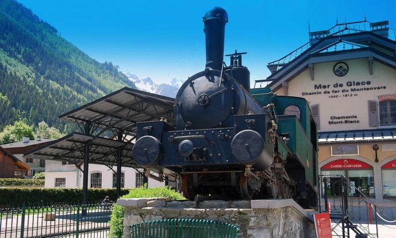 Горная железная дорога Монтенвер