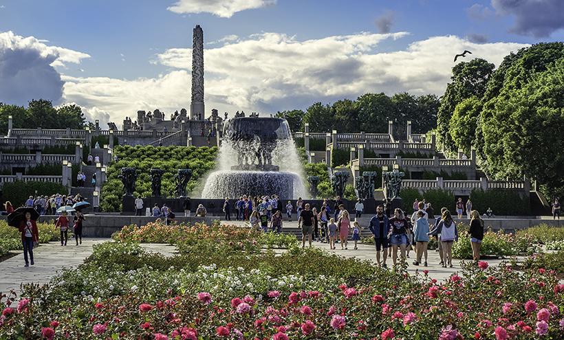 Парк «Фрогнер» в Осло