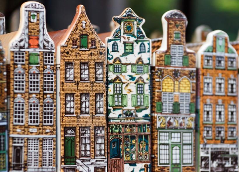 Сувенир Амстердамские домики