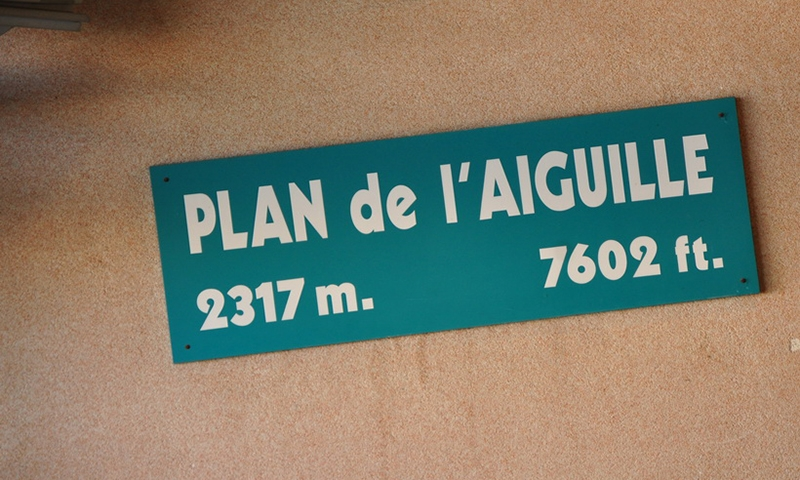 Промежуточная станция Plan de l'Aiguille