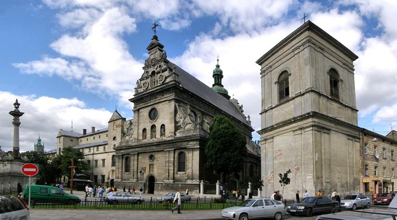 Костел и монастырь Бернардинцев