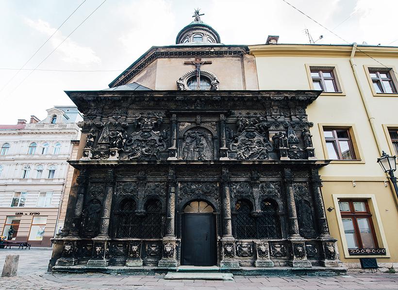 Часовня Боимов во Львове