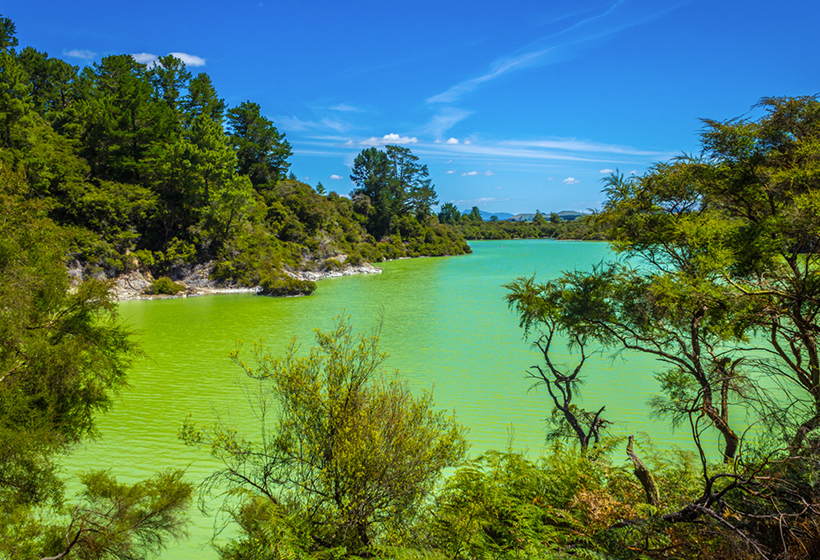 Зелене озеро Нгакоро