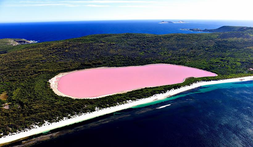Рожеве озеро Ретба