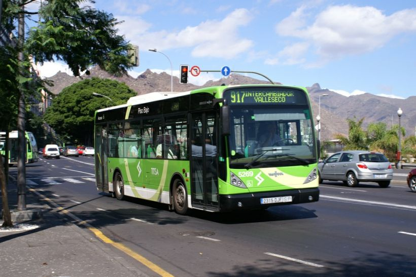 автобус Titsa