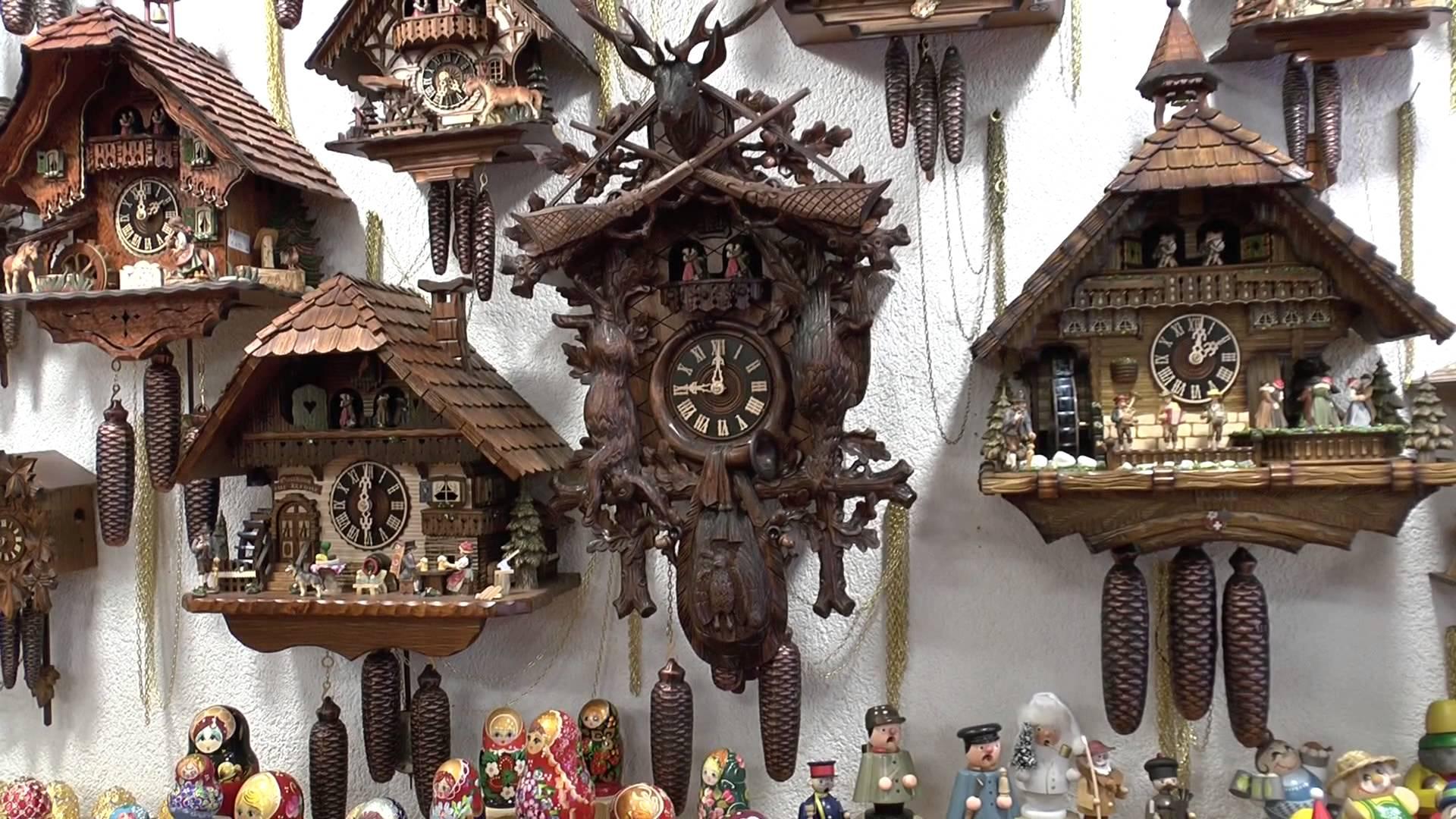 Часы с кукушкой из Швейцарии