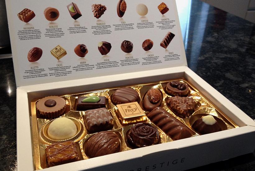 Шоколад Frey
