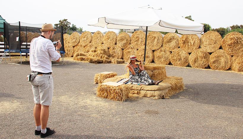 Европейская сыроварня. Фотозона для гостей.