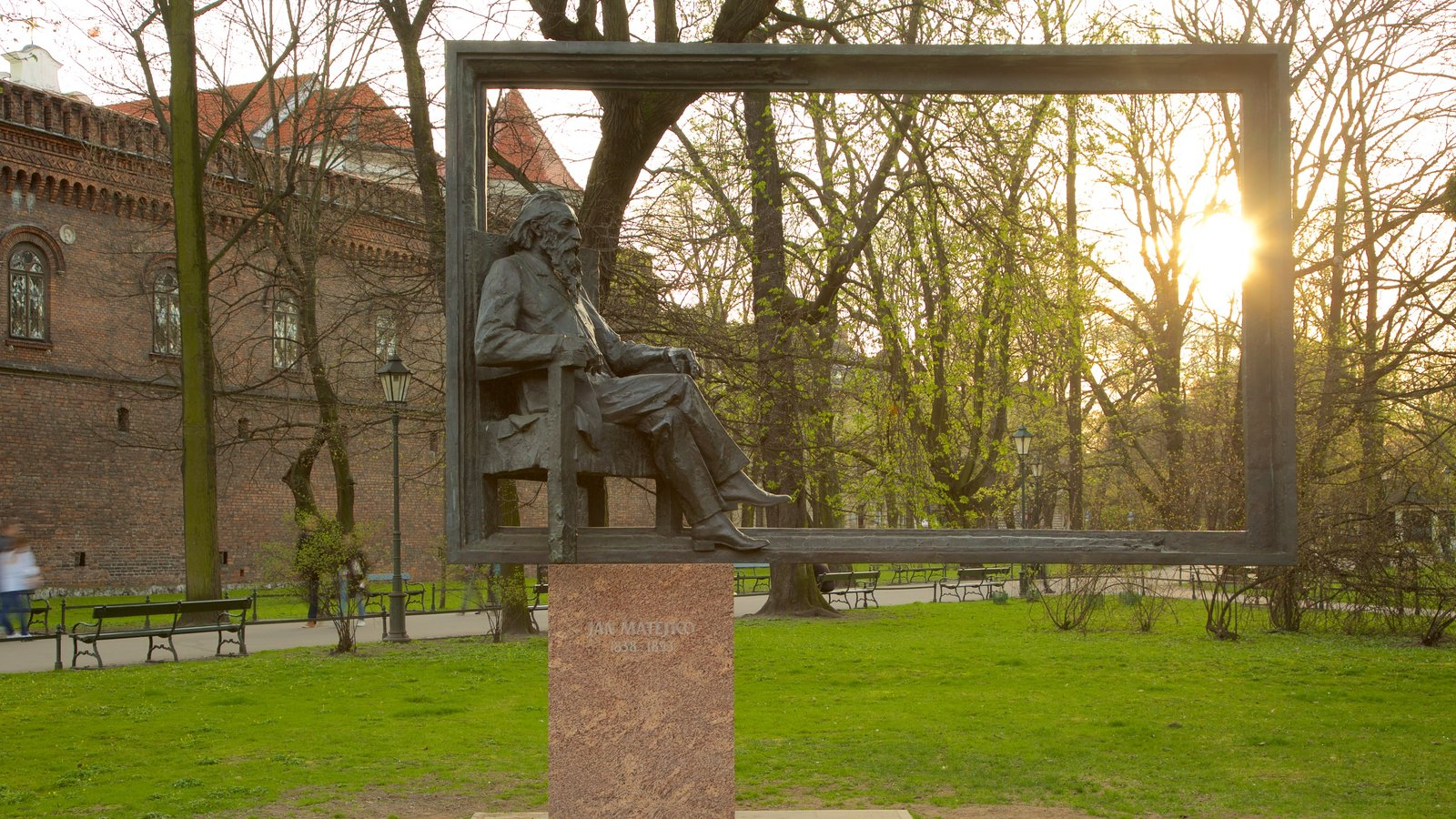 Парк Планты в Кракове