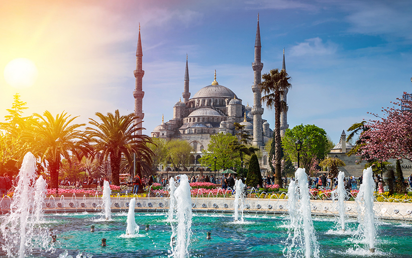 Голубая мечеть или Мечеть Султанахмет в Стамбуле