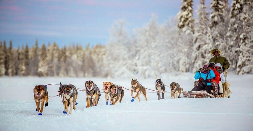 Финляндия зима