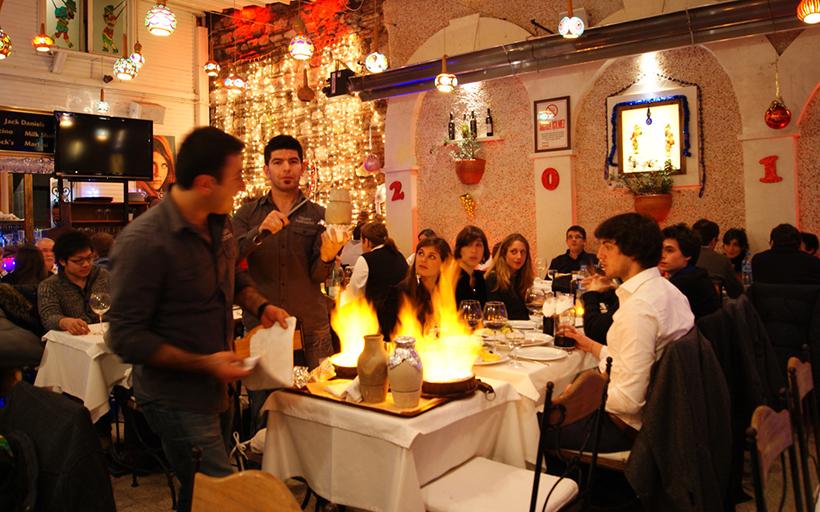 Ужин в ресторане Albura Kathisma