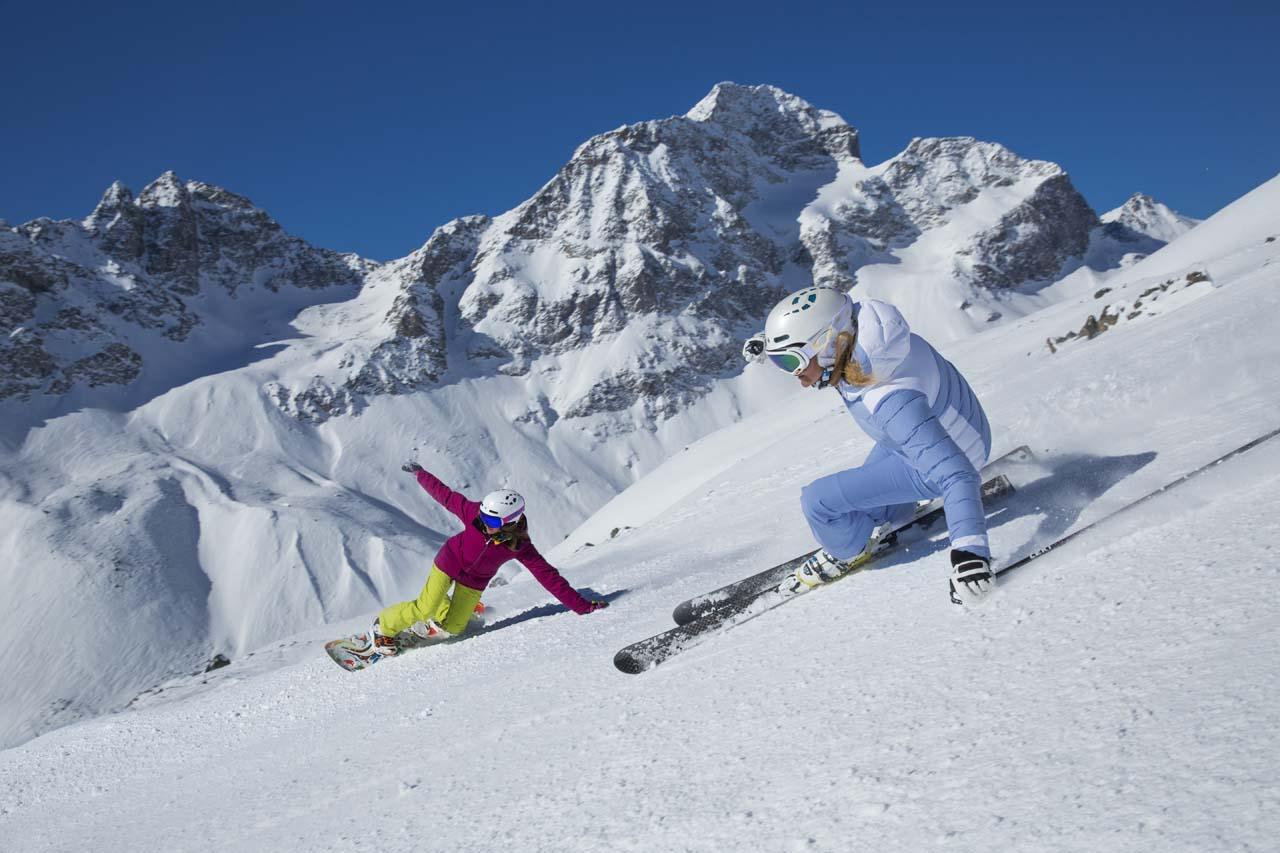 Сноубординг в Санкт-Мориц
